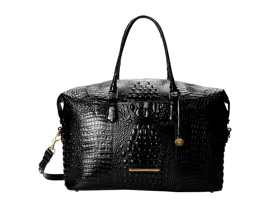 Brahmin Duxbury Weekender Black Cross Body Handbags