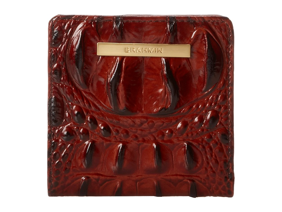 Brahmin Westerly Wallet Pecan Wallet Handbags