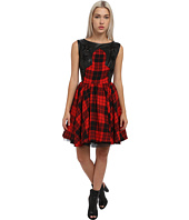 Philipp Plein - Dress Tartan Stars
