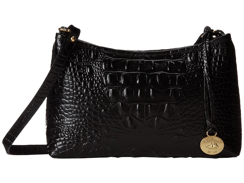 Brahmin Anytime Mini Black Shoulder Handbags