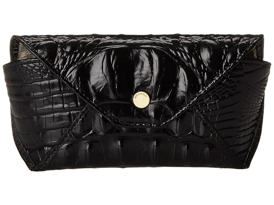 Brahmin Eyeglass Case Black Clutch Handbags