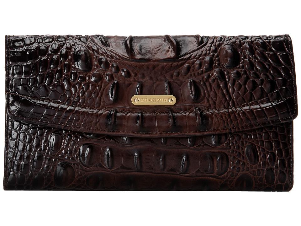 Brahmin SCB Cocoa Wallet Handbags