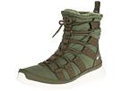 Nike Roshe Run Hi Sneaker Boot (Rough Green/Sail)