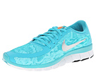 Nike Free 5.0 V4 (Dusty Cactus/Bleached Turquoise/White/Metallic Silver)