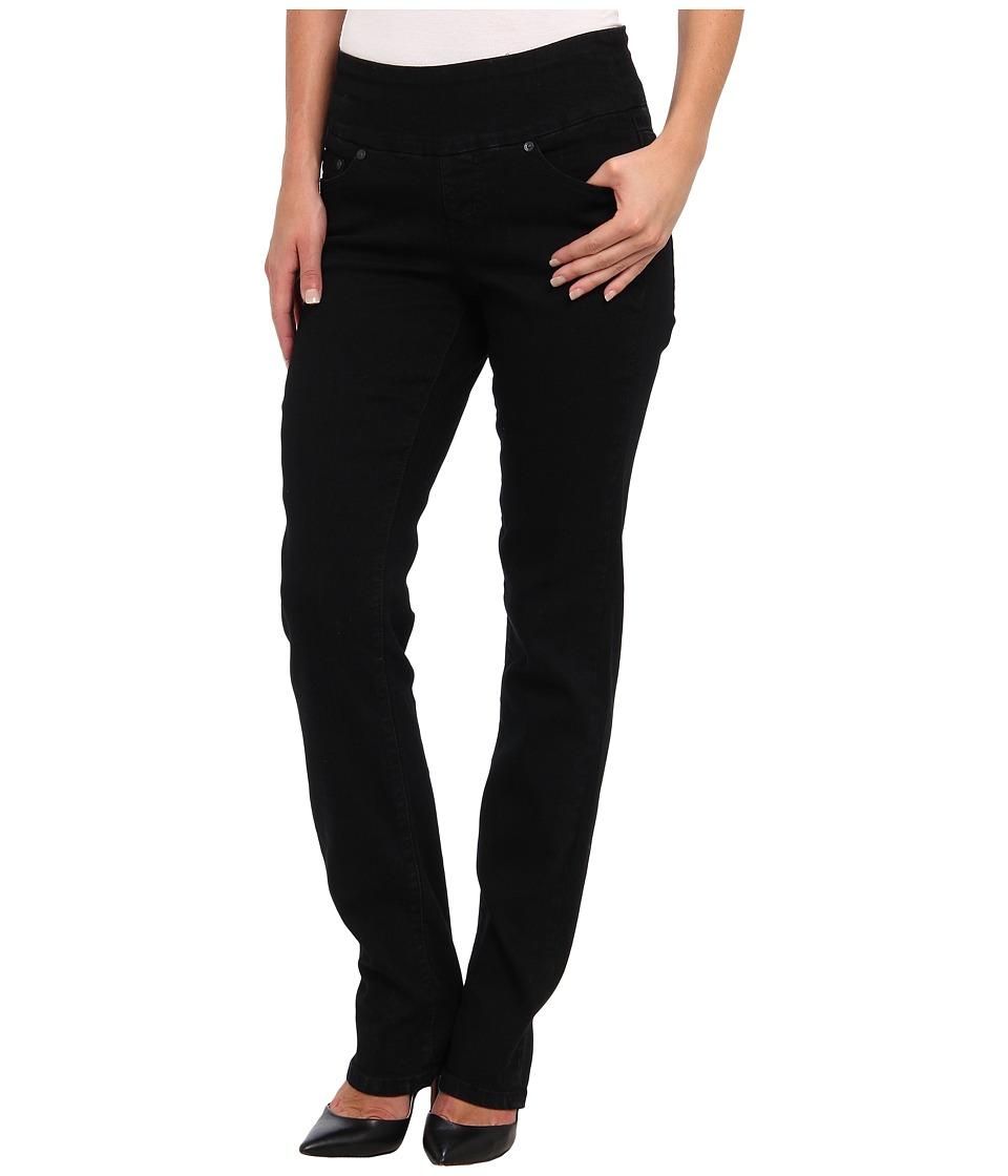Jag Jeans Peri Pull-On Straight in Black Void (Black Void) Women