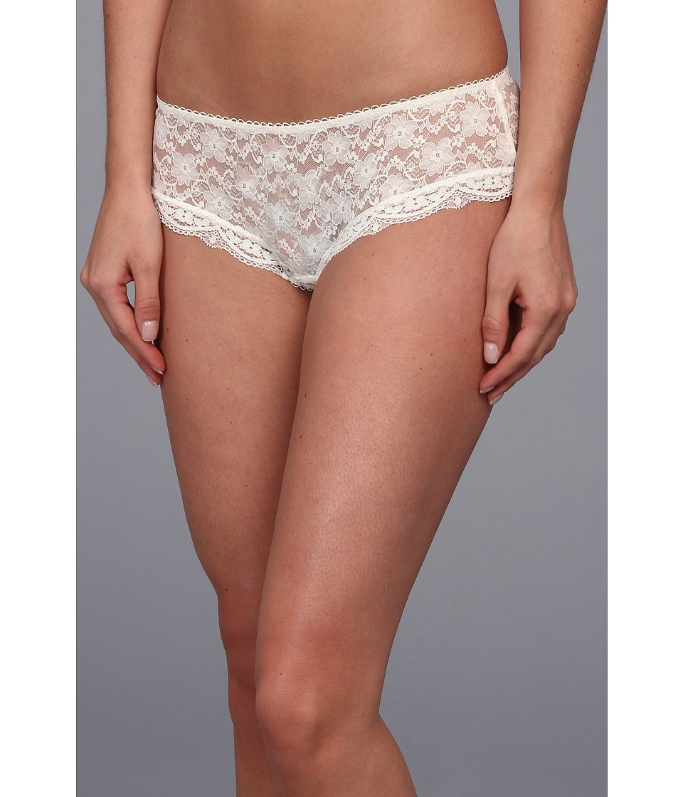 Free People Floral Lace Basic Hipster Ivory Womens Underwear