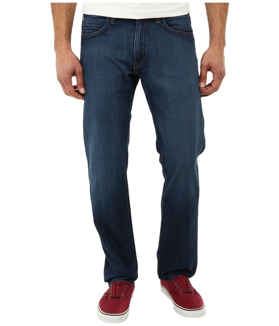 Agave Denim Gringo Sand Spit Supima Med in Med Blue Med Blue Mens Jeans