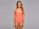 Fox - Fling One-Piece Swimsuit (Atomic Punch) - Apparel<br />