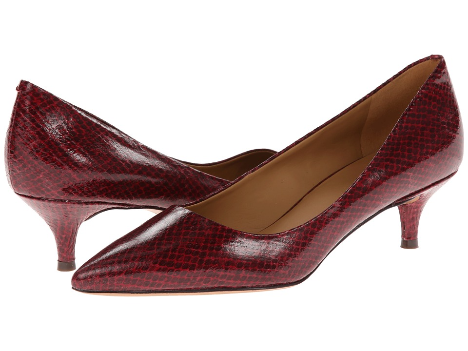Nine West Illumie (Red Multi Synthetic) Women's 1-2 inch heel Shoes