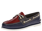 Sperry Top-Sider - Gold A/O 2-Eye (Navy/Red/Grey)