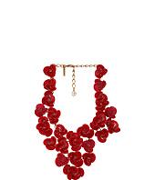 Oscar de la Renta - Resin Swirl Flower Necklace