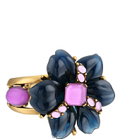 Oscar de la Renta - Resin Flower And Cabochon Bracelet