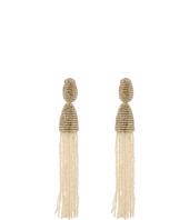 Oscar de la Renta - Long Tassel Earring