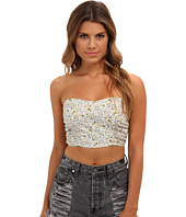 Free People - Sheila's' Shirred Strapless Crop Bralette