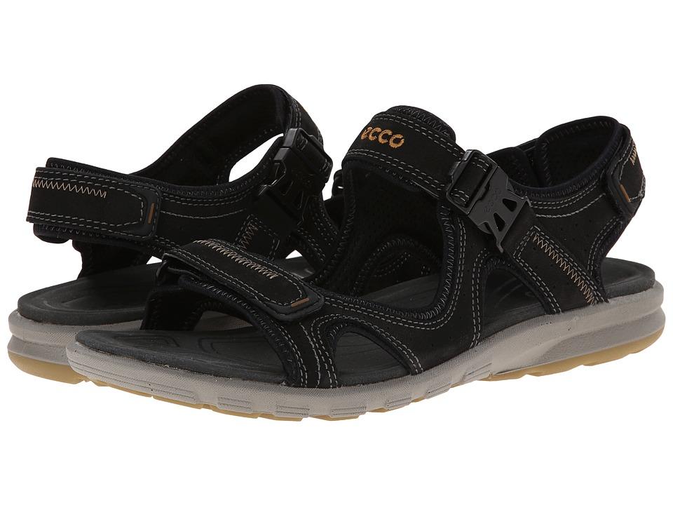 ECCO Sport - Cruise Strap Sandal (Black) Men