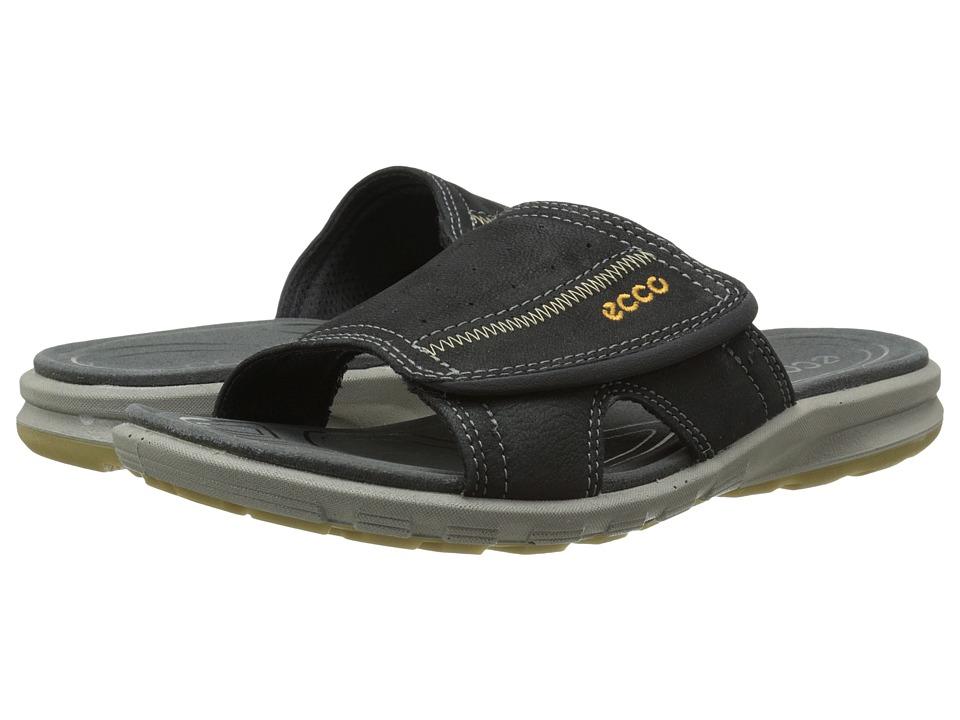 ECCO Sport - Cruise Slide Sandal (Black) Men