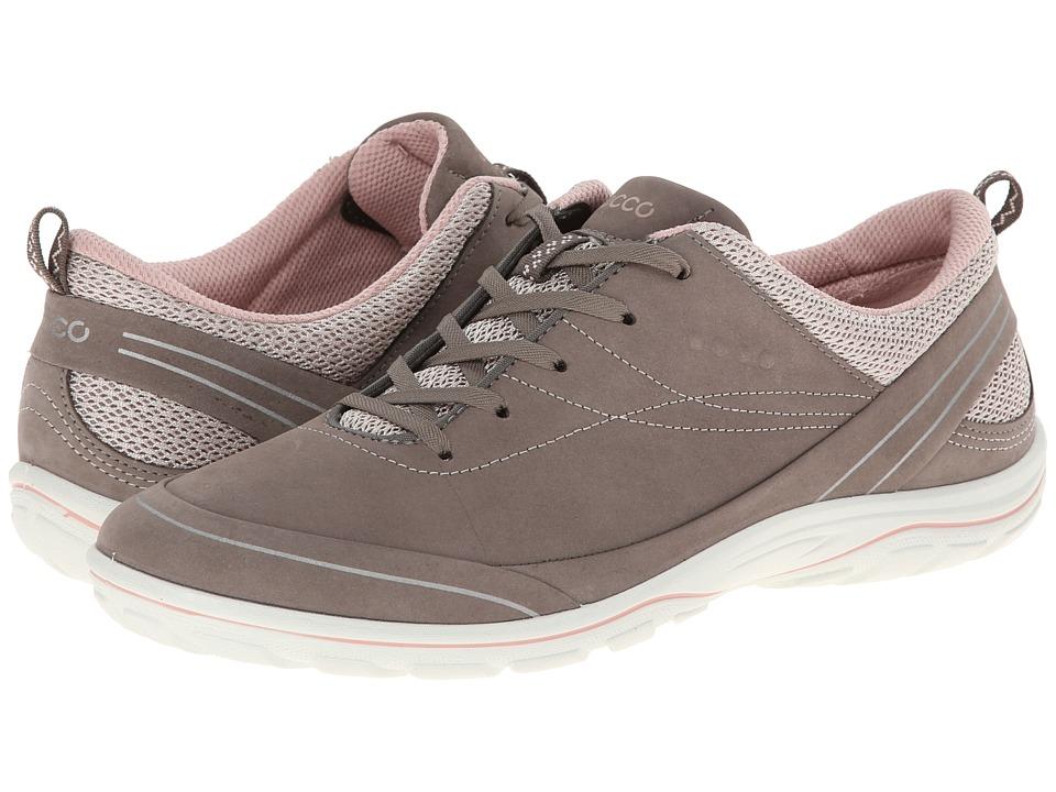 ECCO Sport Arizona Tie Warm Grey/Rose Dust Womens Shoes