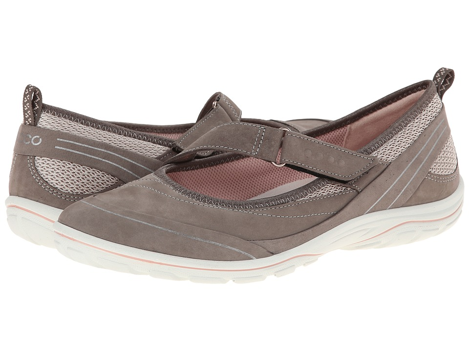 ECCO Sport Arizona Strap Warm Grey/Rose Dust/Rose Dust Womens Shoes