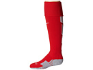 Nike Stadium Soccer Over The Calf (University Red/Wolf Grey/White/White)