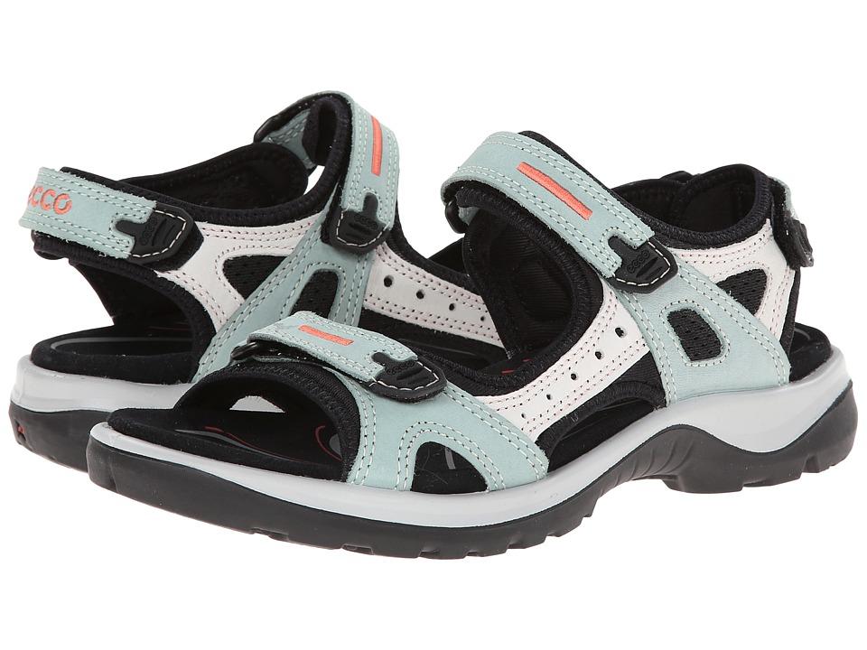 ECCO Sport Yucatan Sandal Ice Flower/Shadow White Womens Sandals