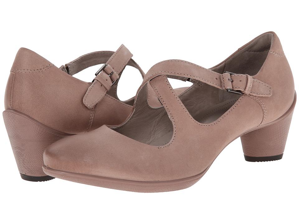 ECCO Sculptured 45 Strap (Woodrose) Women's Shoes