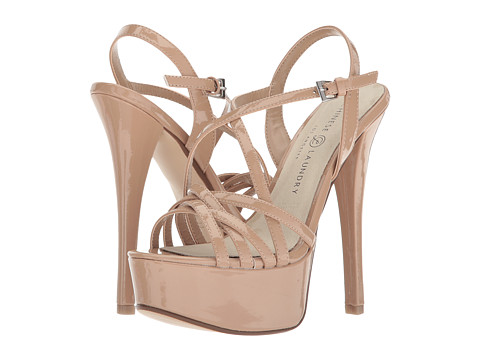 Chinese Laundry Teaser Platform Sandal - Nude Patent