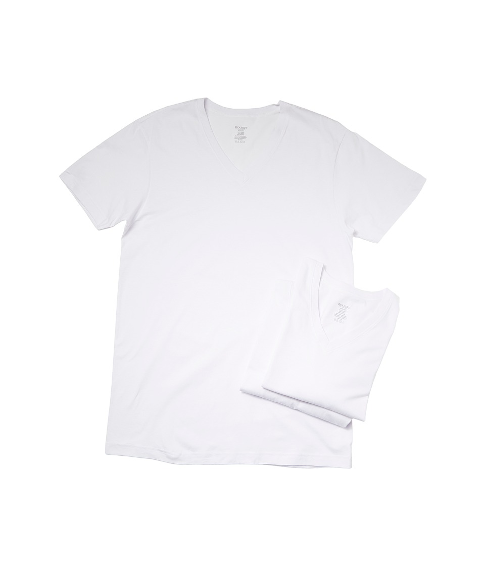 Original Penguin 100 Cotton 3 Pack V Neck Tee White Mens T Shirt