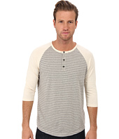 Alternative - Organic Pima Striped Basbeall Henley
