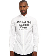 DSQUARED2 - Runway Cell Block Button Up