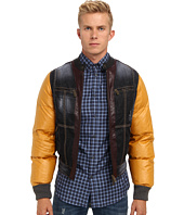 DSQUARED2 - Mixed Fabric Bomber
