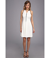 Marc New York by Andrew Marc - Two-Tone Halter Dress MD4K4236
