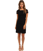 Marc New York by Andrew Marc - Boatneck Shift Dress MD4L6341