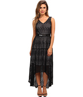 Marc New York by Andrew Marc - High-Low Lace Maxi Dress MD4L4227