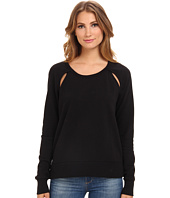 Alternative - Cutout Light French Terry Pullover