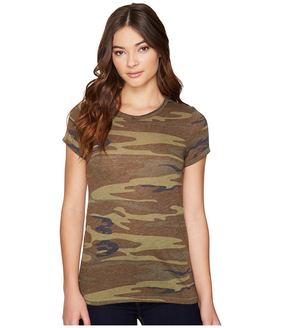 Alternative - Ideal Tee (Camo) Womens T Shirt