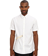DSQUARED2 - Cotton Poplin Relaxed S/S Dan Button Up