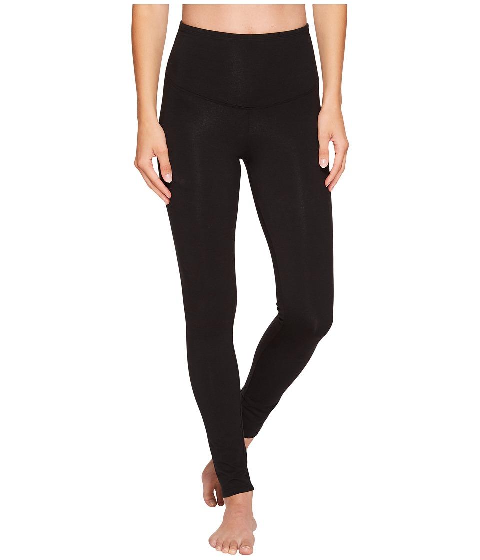 Yummie - Rachel Cotton Shaping Legging (Black) Womens Casual Pants