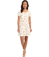 Yumi - Printed Bird Dress