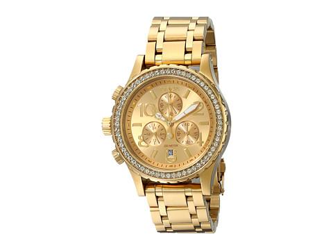Nixon 38-20 Chrono - All Gold Crystal