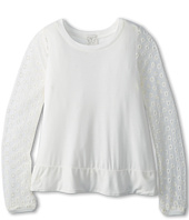 Ella Moss Girl  Casey Lace Long Sleeve Top (Big Kids)  image