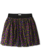 Ella Moss Girl  Alex Leopard Print Skirt (Big Kids)  image