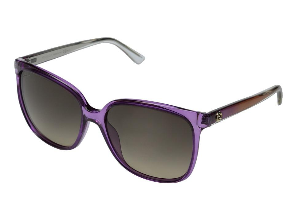 Gucci GG 3696/S Violet/Brown Gradient Fashion Sunglasses