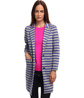 Kate Spade New York - Oversize Scuba Stripe Coat