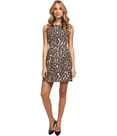 Kate Spade New York - Autumn Leopard Domino Dress