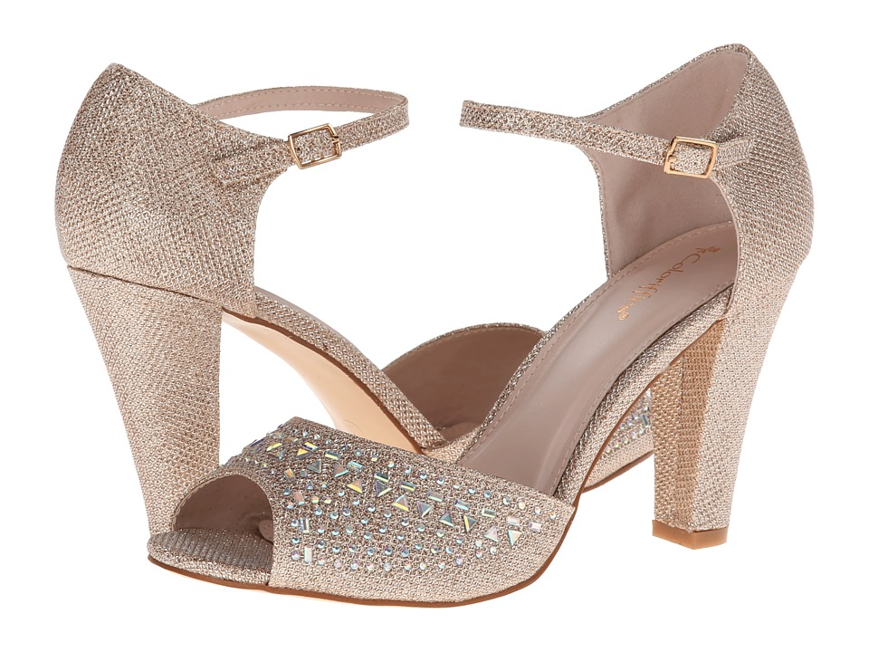 Coloriffics Abbey (Champagne) High Heels