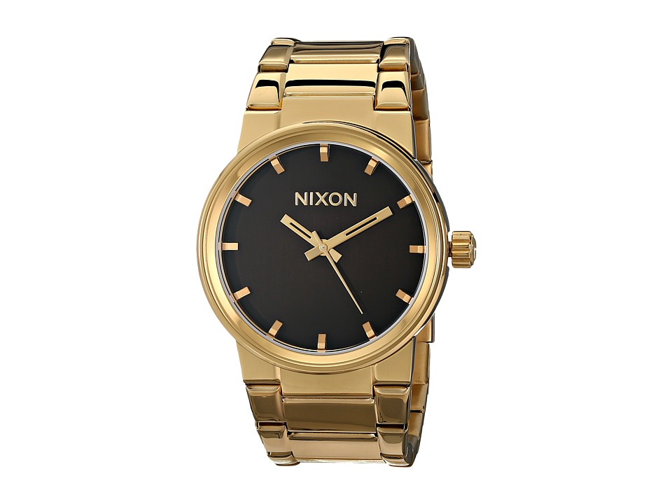 Nixon - Cannon (All Gold/Black) Watches