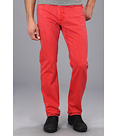 Big Star - Divison Overdye Straight Leg Jean in Sunrise Red