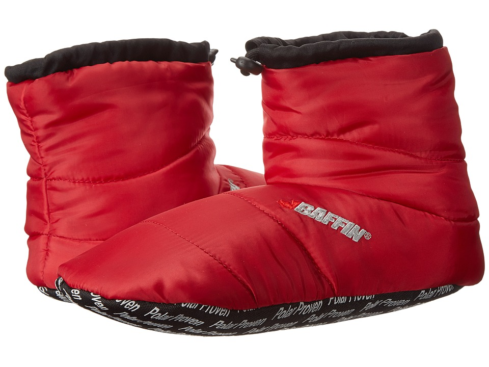 Baffin Cush Booty (Red) Slippers