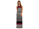 Donna Morgan - Column Striped Maxi (Black/Ivory)