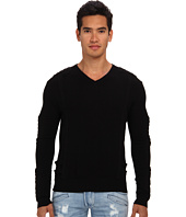 Pierre Balmain - Motor Panel V-Neck Sweater